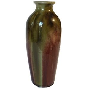 "Multi-colored 8"" Pottery Vase"